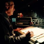 """Bob Bennett, Stage Manager for """"Incident at Vichey by Arthur Miller"""