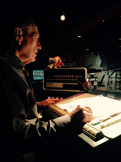 "Bob Bennett, Stage Manager for ""Incident at Vichey by Arthur Miller"